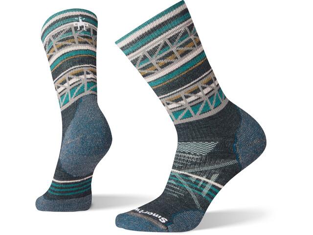 Smartwool PhD Outdoor Medium Pattern Crew Socks Women everglade